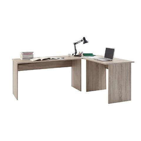 FMD Möbel 351-001 Winkelkombination Till circa 205 x 76 x 65,0/155 cm, eiche