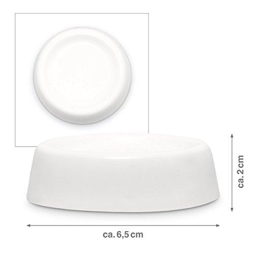 relaxdays 10017884 patin anti vibration pour machine laver blanc lot de 4 pieds top bons plans. Black Bedroom Furniture Sets. Home Design Ideas