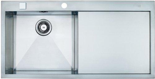 Preisvergleich Produktbild Franke Planar PPX 211 Edelstahl-Spüle SlimTop Spülbecken Küchenspüle Spültisch