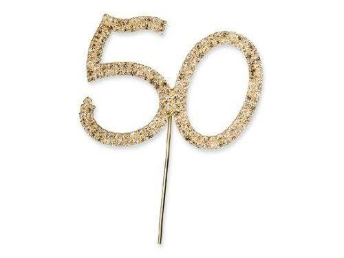 Diamant Zahl 50 -1 Stück