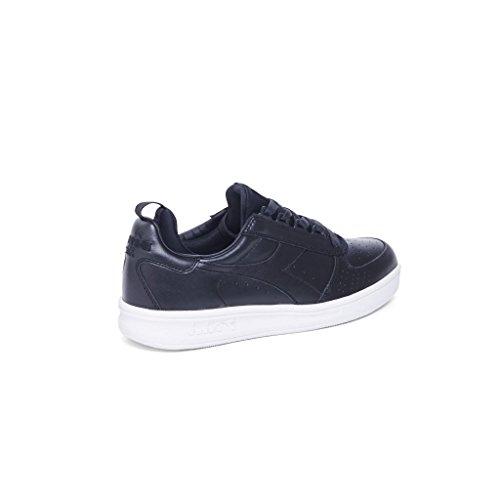 Heritage Sneakers Leder Herren C0200 Diadora Black 20117058301c0200 Schwarz xv7wpp