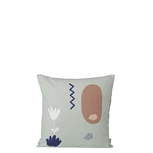 Landscape Cushion - Mint