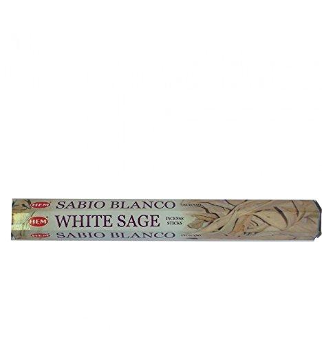 Encens HEM sauge blanch