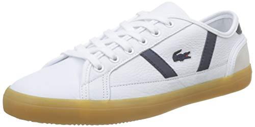Lacoste Damen Sideline 319 1 Cfa Sneaker, Weiß (White/Navy 042), 38 EU