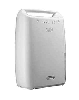 De'Longhi DEX210 Dehumidifier 267 W 37 Decibels White