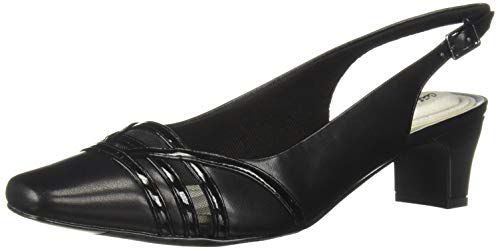 Easy Street Damen Kristen, Black/Patent 35 M EU Easy Street Slingbacks