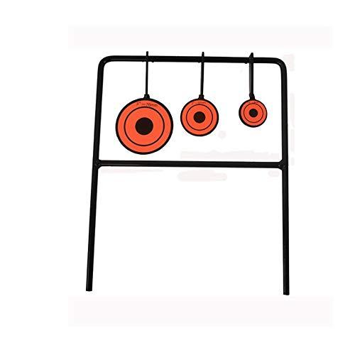 Will Outdoor Target Shooting Board Automatisches Zurücksetzen Rotator 3 Board Schießen Target Praxis Paintball Bogenschießen Slingshot -
