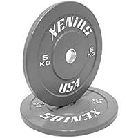 Xenios USA Disco Bumper Contest in gomma grigia - 5 Kg.