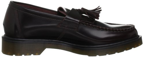 Dr Martens Adrian Arcadia, Chaussures de ville mixte adulte Rouge (Cherry Red)