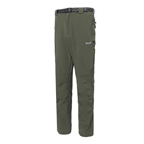 39d034ddd Izas Chamonix, Pantaloni Elasticizzati Uomo, Caki, L