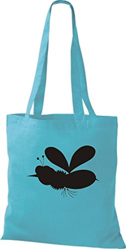 Motif crocodile petit sac en tissu chenille, sac shopper sac à bandoulière plusieurs couleurs Bleu - sky