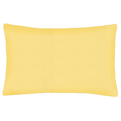 Toscana Bella 20000015 Joli Cord. Taie d'oreiller 50 x 80 cm jaune