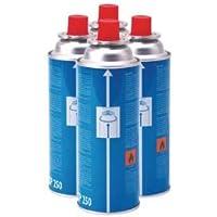 Campingaz CP250 Resealable Gas Cartridge - 4 Pack.