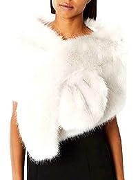 ef71adb4d2ca Amazon.fr   Ecru - Etoles   Echarpes et foulards   Vêtements