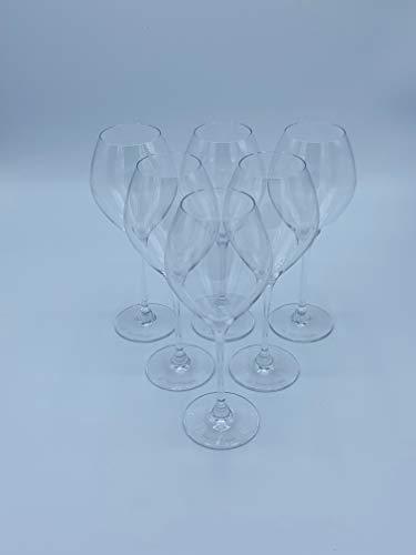 6 x Veuve Clicquot Champagner Ballonglas 0,1l// Sehr edel & hochwertig!