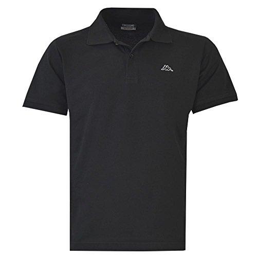Kappa Pique Poloshirt SCOTTY Kurzarm Schwarz