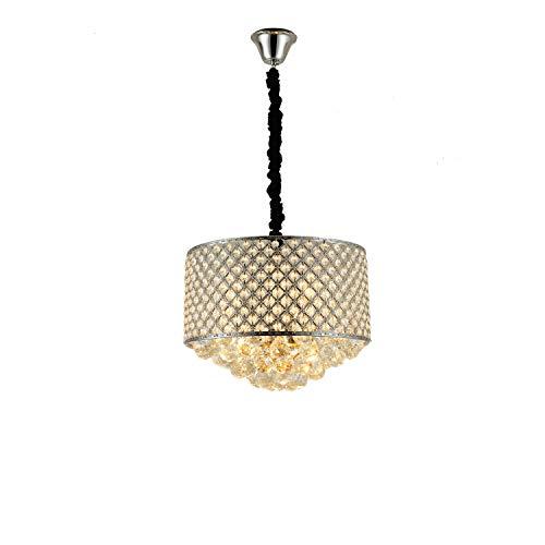 ONLT Kristall Hängelampe,Deckenlampe Modern Deckenbeleuchtung für Wohnzimmer/Schlafzimmer,Kristall Hängeleuchte Höheverstellbar Kronleuchter geeignet für Wohzimmer Esstisch, Treppe