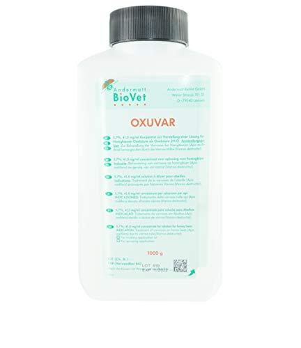 APIFORMES OXUVAR 5.7% - 1000 g - Oxalsäure gegen Varroa Behandlung   Varroamilbe   Sommer und/oder als Winterbehandlung   3,0% Oxalsäure-Dihydrat zum Besprühen von Schwärmen, Ablegern  