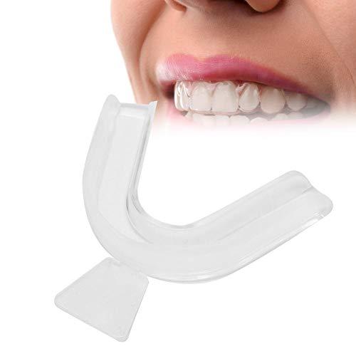 5 pezzi morsetto ortopedico dentifricio ortopedico per fermare denti levigatura e Lip Tattoo protezione cura dentale morsetti