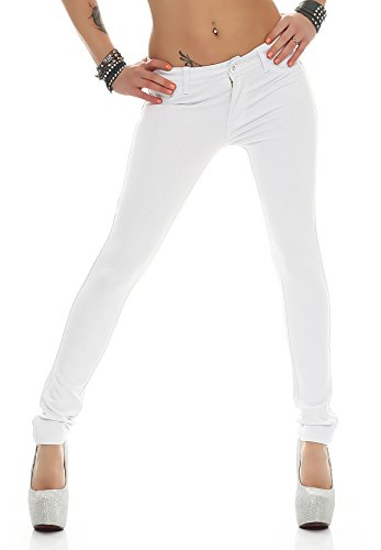 miss anna -  Pantaloni  - Jeggings - Donna Bianco