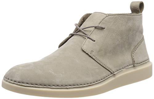 Clarks Herren Hale Lo Chukka Boots, Beige (Desert Nubuck), 46 EU (Clark Boot Wildleder)
