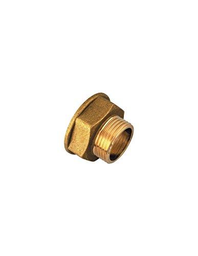 Réduction Femelle / Mâle Raccords laiton - Filetage 33 x 42 mm - 26 x 34 mm - Vendu par 1