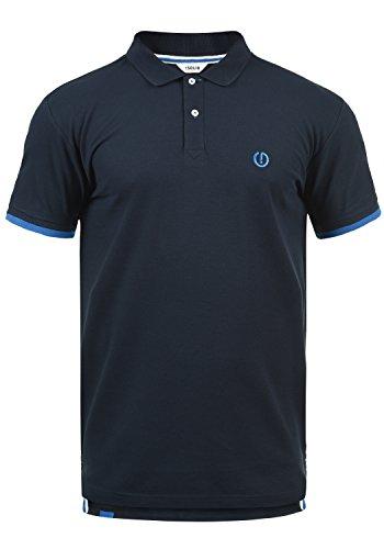!Solid BenjaminPolo Herren Poloshirt Polohemd T-Shirt Shirt Mit Polokragen, Größe:S, Farbe:Insignia Blue (1991) -
