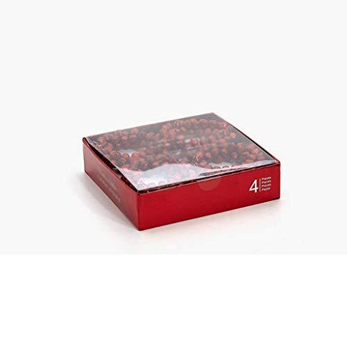 Eeayyygch Tischserviettenhalter Glocke Ring Schnalle 4 Pcs/Set - -