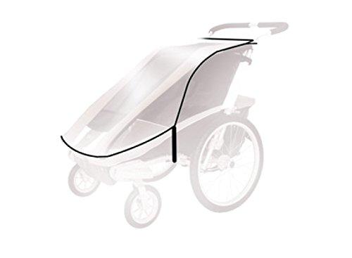 Thule Baby für für Chariot Cheetah 2 Spritzschutz, transparent, One Size - Kinderwagen Chariot Thule