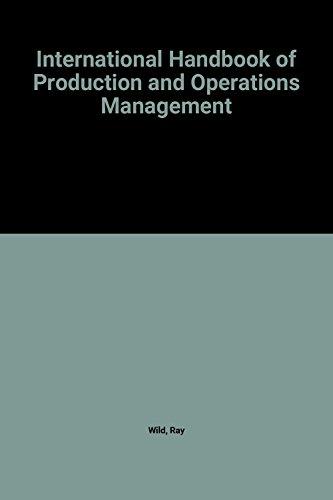 International Handbook of Production and Operations Management PDF Books