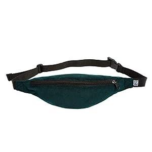 Bauchtasche schmal, Cord fein grün, Hipbag, Umhängetasche, fanny pack, Hüfttasche