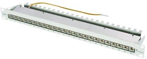Telegärtner Patch Panel Cat. 6A 24-Port geschirmt -
