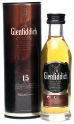 Glenfiddich 12 Year Old Special Reserve Single Malt Scotch Whisky (6 x 5cl Miniature Bottles)