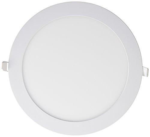Wonderlamp W-E000046 - Downlight LED extraplano redondo blanco, iluminacion 18W (1450 lm), 6000K (luz fría)