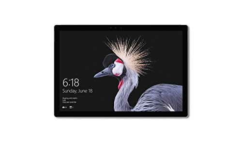 Microsoft Surface Pro - Ordenador portátil 2 en 1, 12.3'' (Intel Core i5-7300U, 8GB RAM, 128GB SSD, Intel Graphics, Windows 10 Pro) Plata