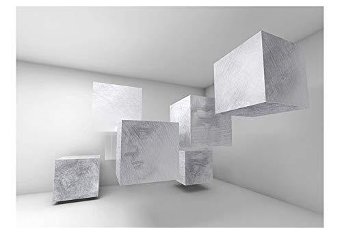 YUKANGI 3D-Stereo-Wandtapete im Vintage-Stil, nahtlos, für TV, Wohnzimmer, Schlafzimmer, TV Court cross burlap
