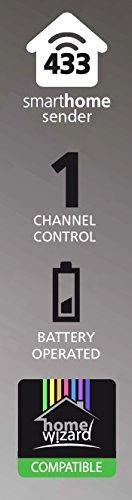 Smartwares SmartHome Funk-Fernbedienung für den Schlüsselbund 1-Kanal, SH5-TDR-K - 2