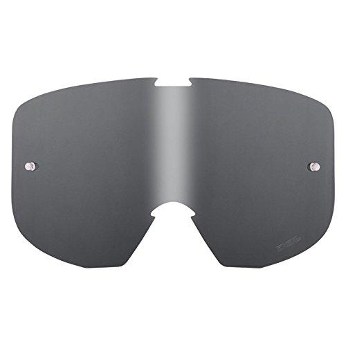 O'Neal Ersatz Scheibe B1 RL Goggle Anti Beschlag Ersatzteil Glas Polycarbonat Kratzfest MX Cross, 6021D-5, Farbe grau