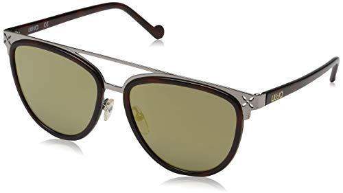 Liu Jo Damen LJ107S 218 55 Sonnenbrille, Blonde Tortoise,