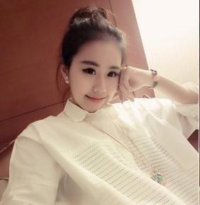Oxforder 2016neu weiblich Korean Lose Langarm Shirt und hohl langes weiß Shirt
