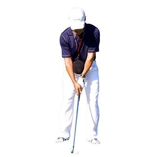 Antrygobin Ball Golf Swing Trainer Hilfe Übungshilfe Haltungskorrektur Training Tool Smart Impact, Schwarz -