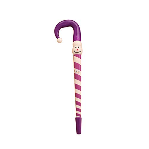 ekorationen Schneemann Regenschirm Stange Kugelschreiber Schreibwaren Weihnachten Ornament Geschenk Zufällige Farbauswahl ()