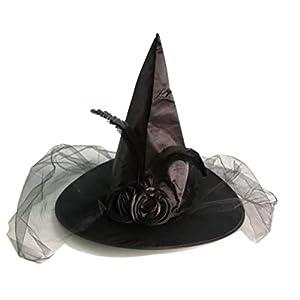 BESTOYARD Sombrero de Bruja con