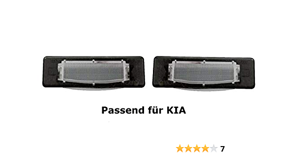 Premium Led Kennzeichenbeleuchtung Ceed Gt Proceed Tucson Tl Tle Facelift Ab Bj 2018 Kb4 Auto