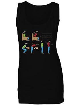 Fisioterapia mal camiseta sin mangas mujer g378ft