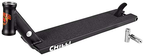 Chilli Pro Scooter Streetdeck GA Sign. 56 cm inklusive Pegs (schwarz)