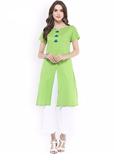 Great Indian Sale Kurti For Women Party Wear Designer Today Best Offers In Low Price Sale Red Cotton Fabric Free Size Ladies Kurti.