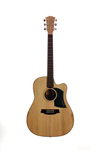 cole clark fat lady 2 cw blackwood guitare acoustique dreadnought