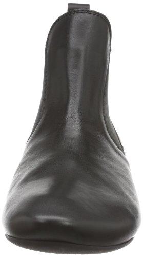 Think Guad, Bottes Chelsea Femme Noir (schwarz 00)