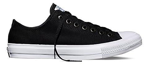 Converse Men's Ct Ii Ox Sneakers, Black (Black/White/Navy), 8.5 UK
